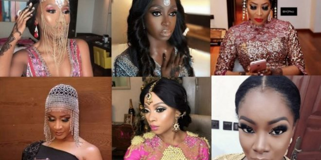 "Check Out Top 18 Looks From ""The Wedding Party 2"" Movie Premiere"