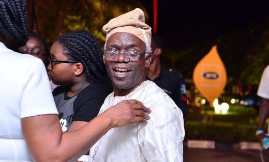 See Photos Of Falz's Father, Mr. Femi Falana At #thefalzexperience
