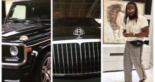 Timaya Gift Himself A Maybach Benz & G-wagon For Christmas