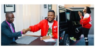 BREAKING NEWS: South South Rapper Maxino Gets Muti-Billion Naria Deal And A Benz G-Wagon