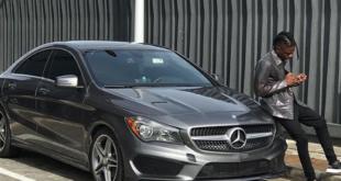 Lil Kesh Acquires a New Benz AMG C 43 worth N19.8million (Photos)